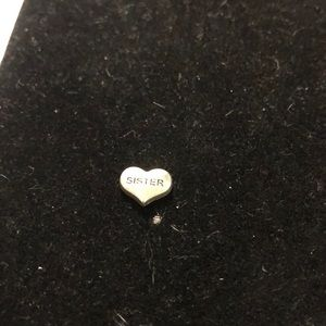 Jewelry - Charm for locket.  Sister
